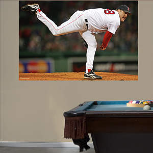 Curt Schilling Sock Mural Fathead Wall Decal